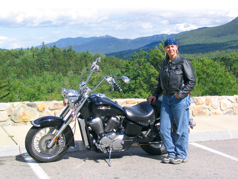 4 bucket list motorcycle rides in the east white mountains tricia honda shadow 750 ace