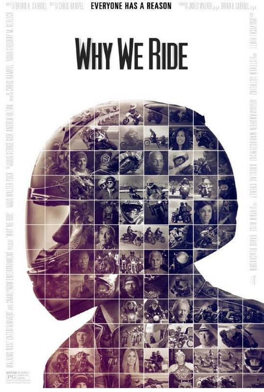 Movie Review Why We Ride DVD cover