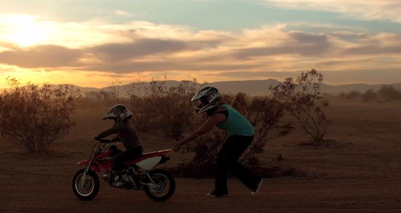 Movie Review Why We Ride sunset motorcycle