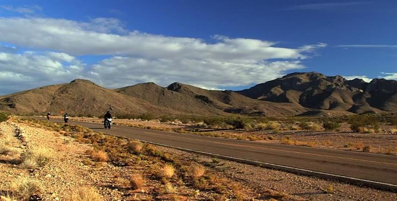 Movie Review Why We Ride motorcycles desert road