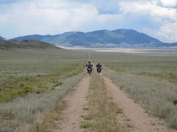 A Ride to Change Your Life dual sport Colorado
