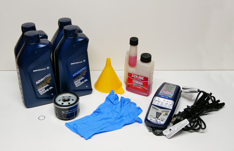 8 steps to prep your motorcycle for winter storage supplies