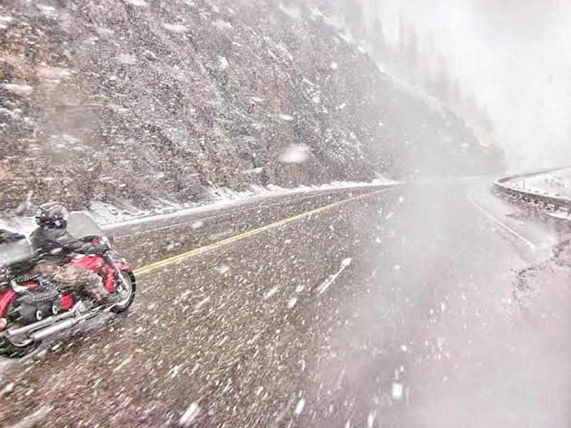 Events Steel Horse Sisterhood Summit mountain pass snow