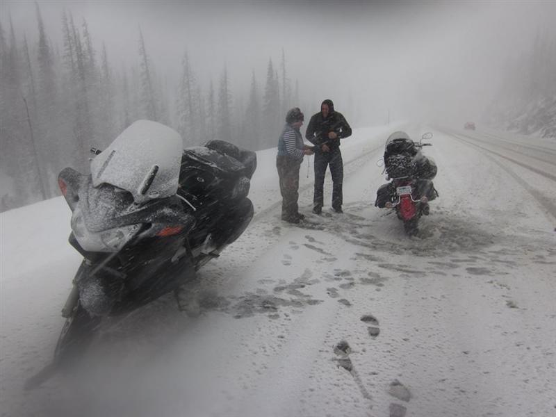 Events Steel Horse Sisterhood Summit mountain snow motorcycle