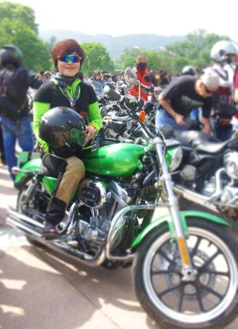 women lead the way in chinas motorcycle industry harley davidson