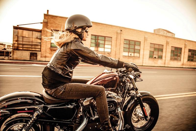 Women Who Ride Motorcycle Happier Sportster