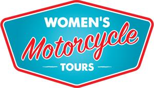 womens motorcycle tours logo