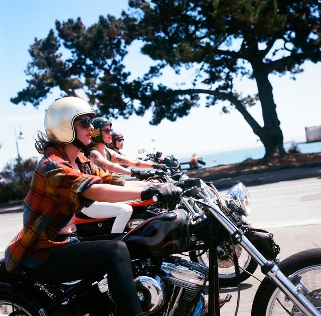 New Generation of Women Riders Three Ladies