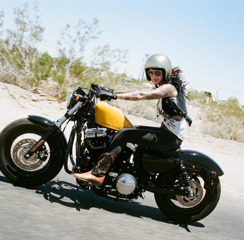 New Generation of Women Riders Sportster