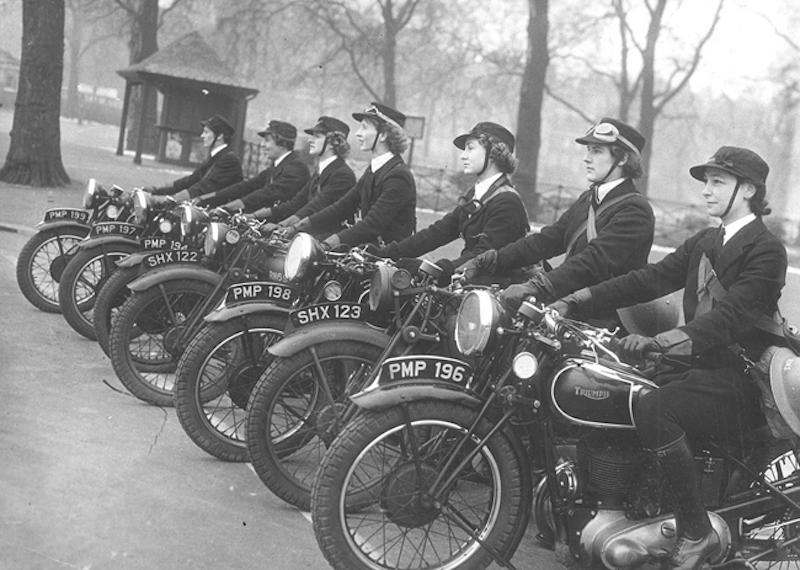 Pioneers The Female Dispatch Riders of World War II motorcycles