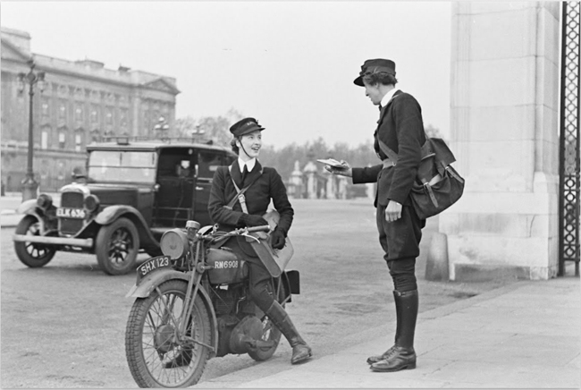 Pioneers The Female Dispatch Riders of World War II mail carrier