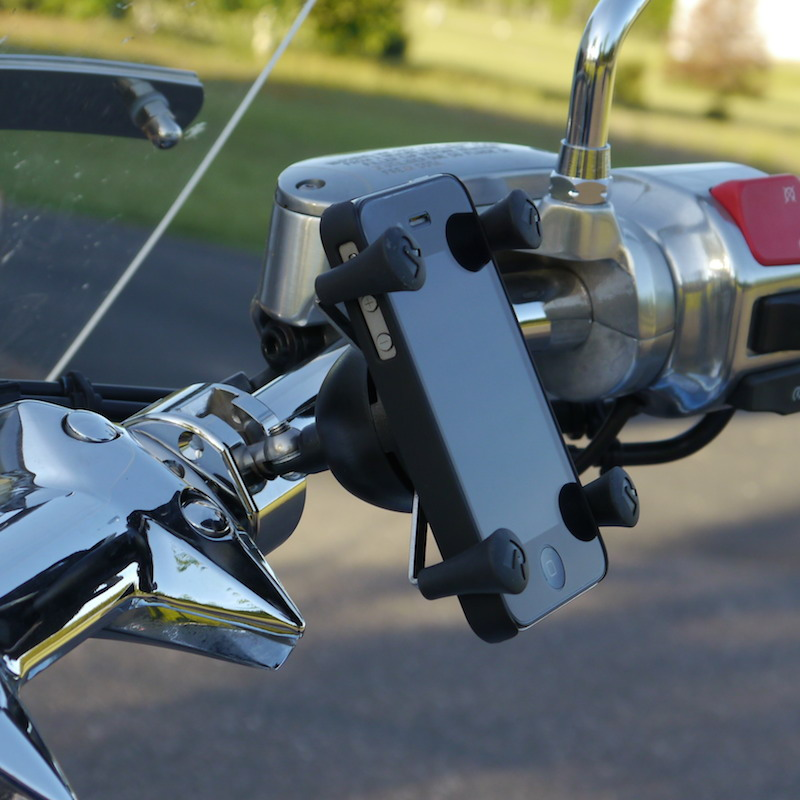Universal Cell Phone Mount for Motorcycles X-Grip