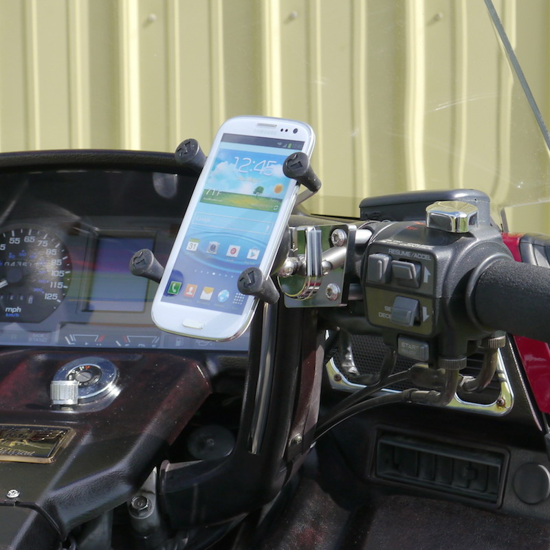 Universal Cell Phone Mount for Motorcycles