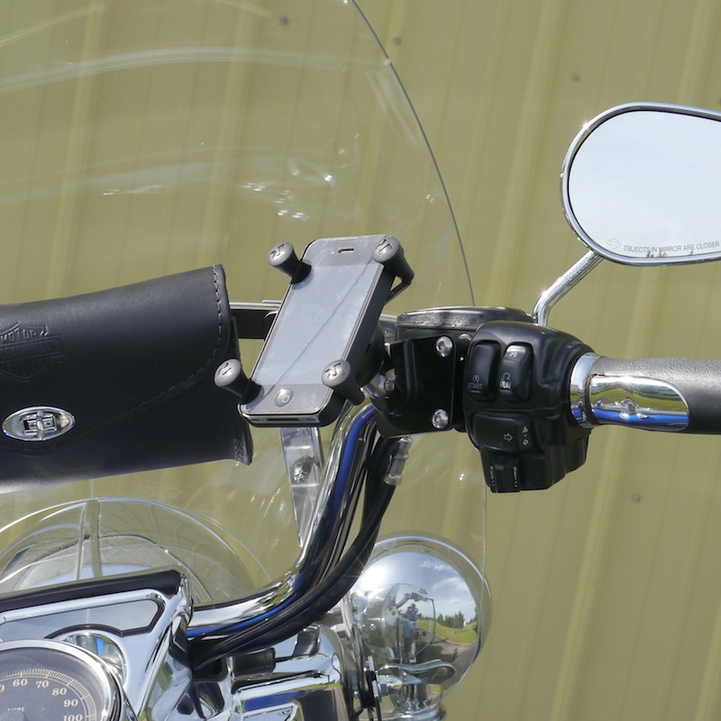 Universal Cell Phone Mount for Motorcycles X-Grip Leader Motorcycle