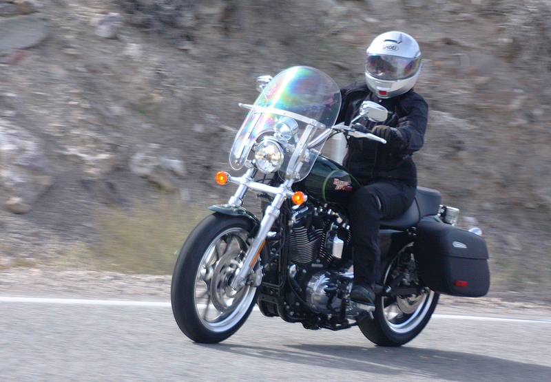 review 2016 harley davidson sportster superlow 1200t pam riding