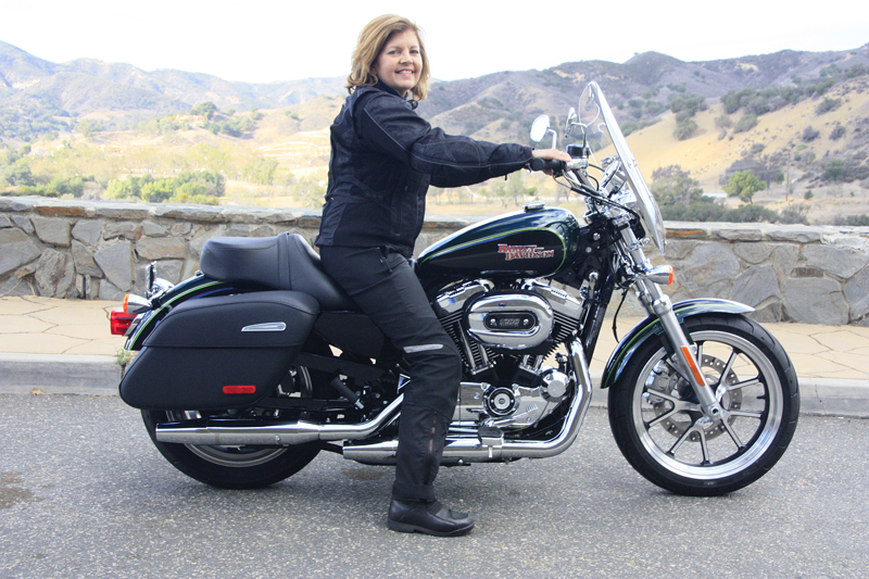 review 2016 harley davidson sportster superlow 1200t seat height