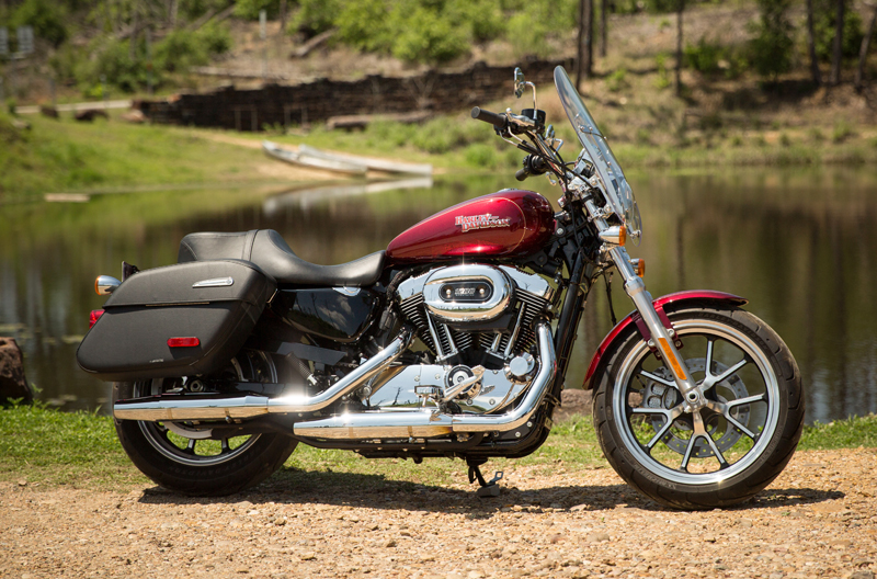 review 2016 harley davidson sportster superlow 1200t right