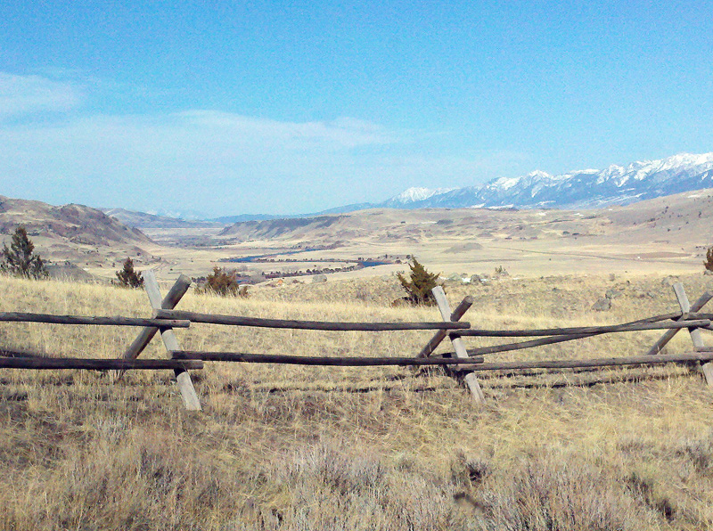 mountains every way you look paradise valley tom miner basin