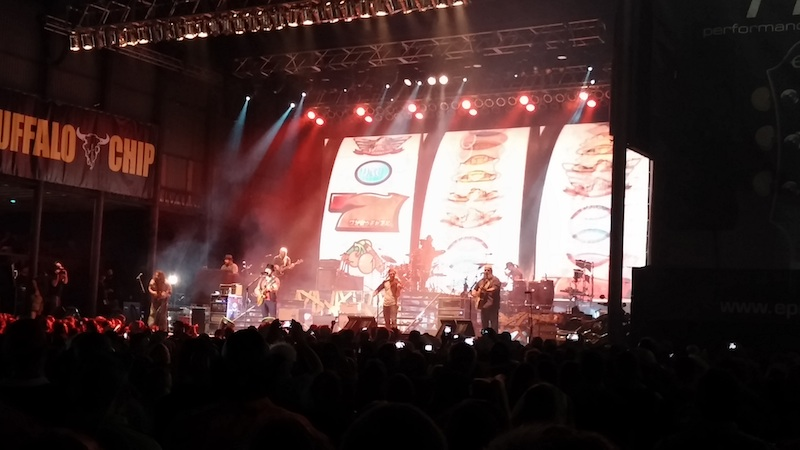 74th Annual Sturgis Motorcycle Rally Zac Brown Band