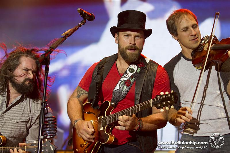 74th Annual Sturgis Motorcycle Rally Zac Brown Band close up