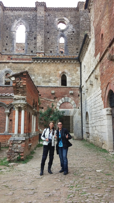 why you should ride a motorcycle in italy once in your life san galgano