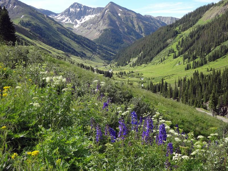 all women backcountry motorcycle ride held this summer scenery