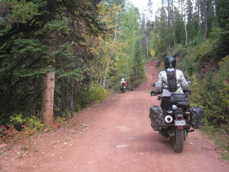 all women backcountry motorcycle ride held this summer COBDR