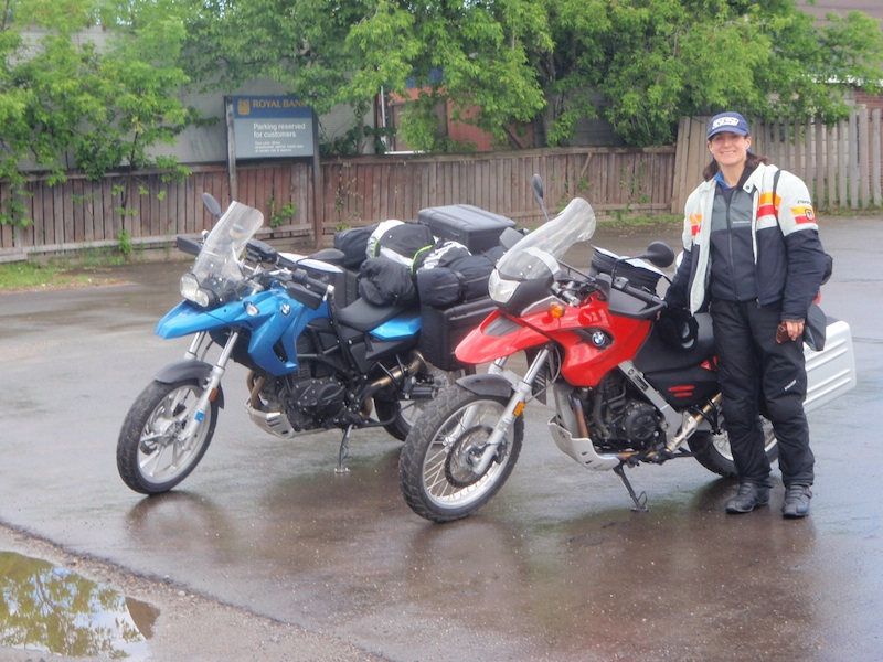 Reader story how one woman inspired another to ride BMW motorcycles