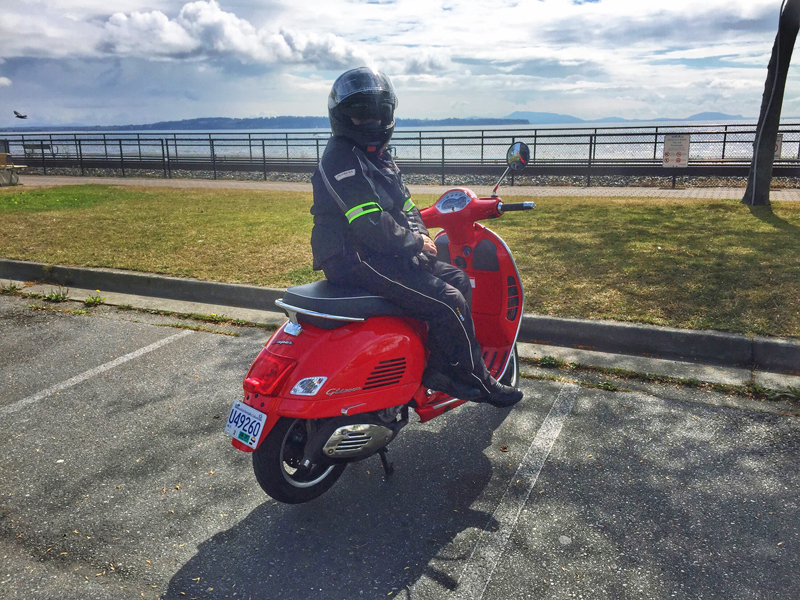 59 female and formidable on her motorcycle alison prentice