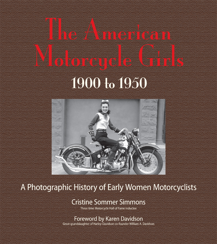 american motorcycle girls book cover