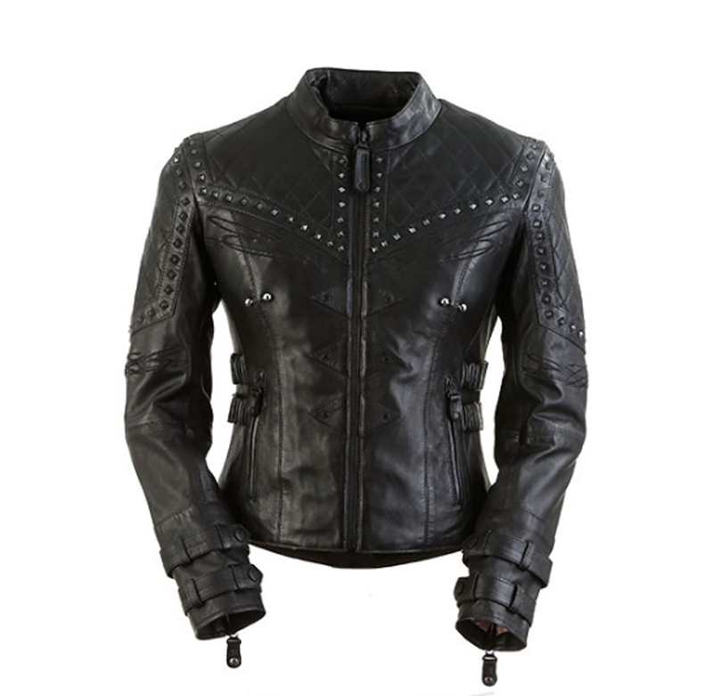review vintage styled leather womens motorcycle jacket brazilian waxed