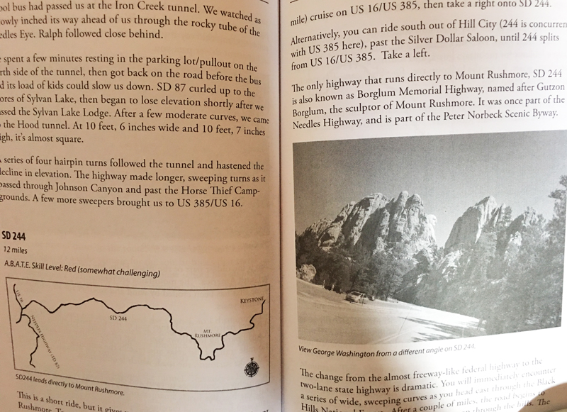 review ride the black hills book inside