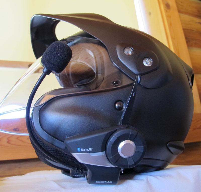 review sena 20S and prism camera helmet