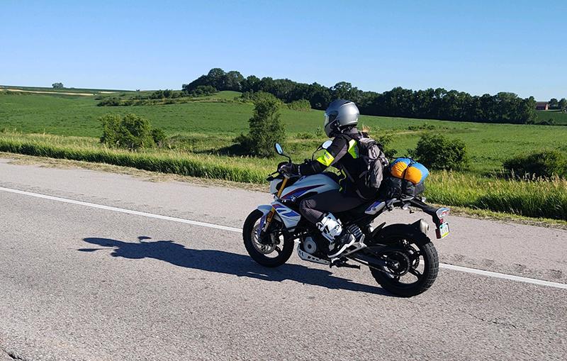 rawhyde adventure training madison travis bmw g310r nebraska