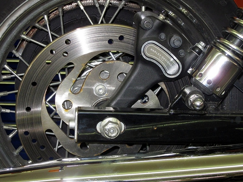 motorcycle brakes maintenance 101 harley disc brake
