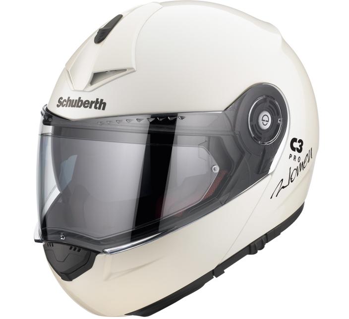 Review Schuberth C3 Pro Women Helmet pearl white