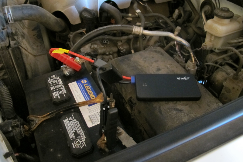 review weego motorcycle battery jumpstarter automotive