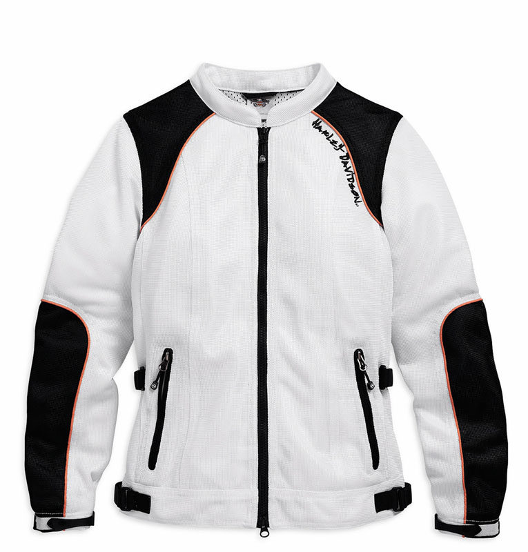 Mesh Motorcycle Riding Jackets from Harley Davidson for Hot Weather Cascade Jacket