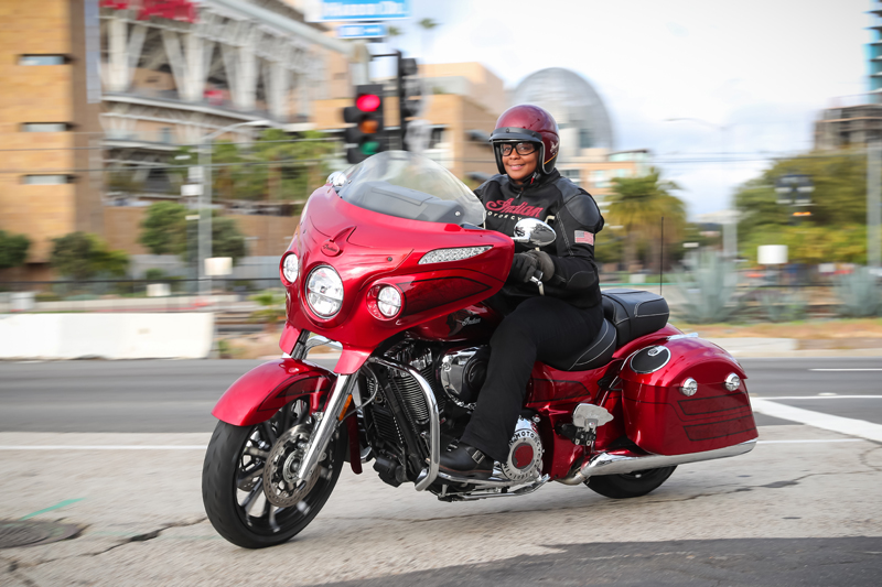 review 2017 indian motorcycle chieftain limited elite turning