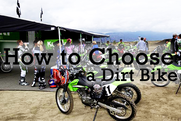 What to consider when youre ready to invest in your first dirt bike.