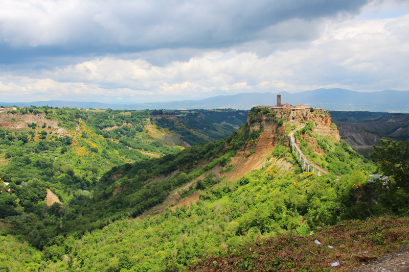 why you should ride a motorcycle in italy once in your life civita bagnaregio