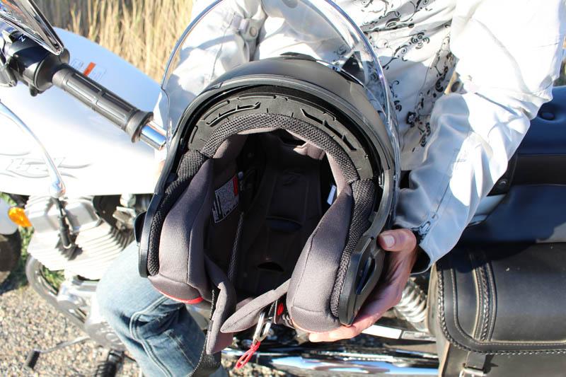 helmet review scorpion exo ct220 liner
