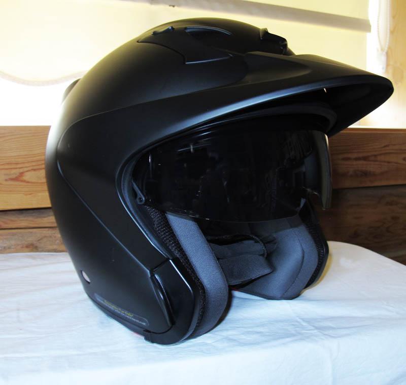 helmet review scorpion exo ct220 peak visor