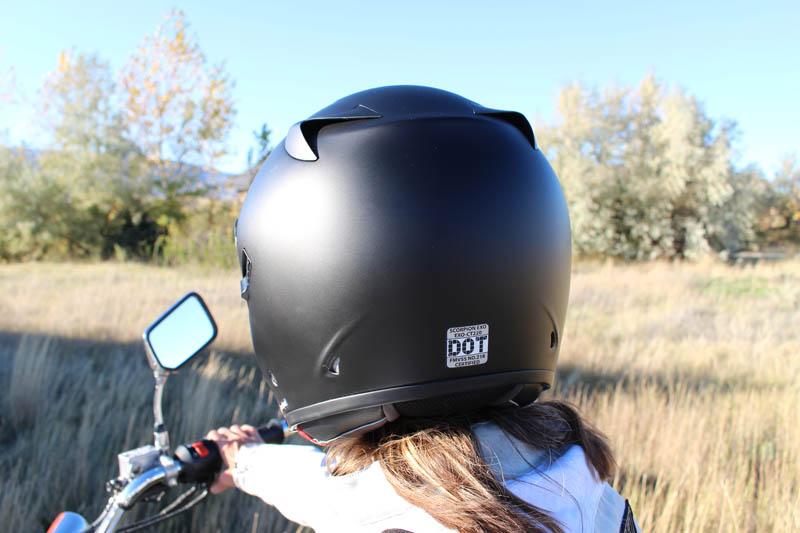 helmet review scorpion exo ct220 rear vents