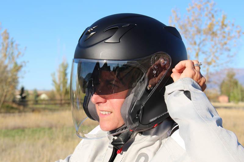 helmet review scorpion exo ct220 sun visor
