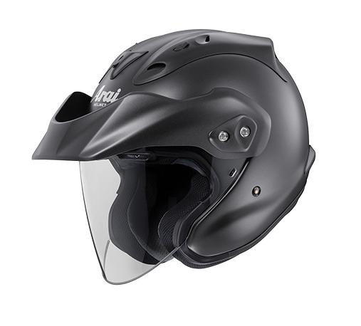 review open face arai ctz helmet diamond black