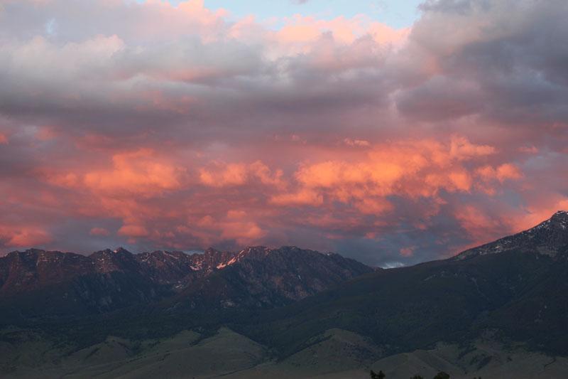 genevieves everday miracles regaining balance mountain sunset