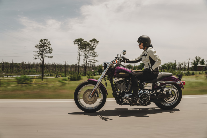 top 10 motorcycles women ride harley davidson dyna low rider