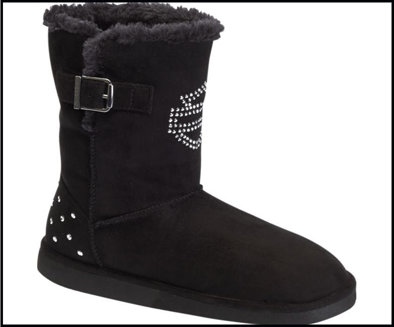 harley davidson ugg style boots 7.5 inch