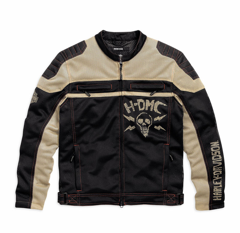 Mesh Motorcycle Riding Jackets from Harley Davidson for Hot Weather Ghost Town Jacket